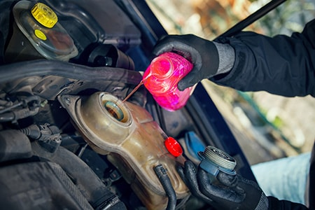 Antifreeze & Coolant distribution and supply